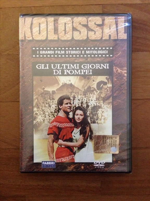 Gli ultimi giorni di Pompei (Leone, 1959) DVD