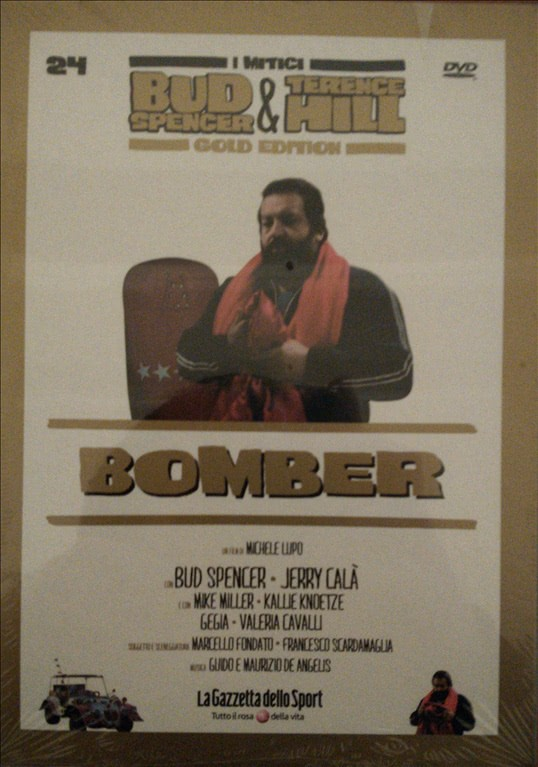 I MITICI BUD SPENCER E TERENCE HILL GOLD EDITION n.24 - DVD BOMBER