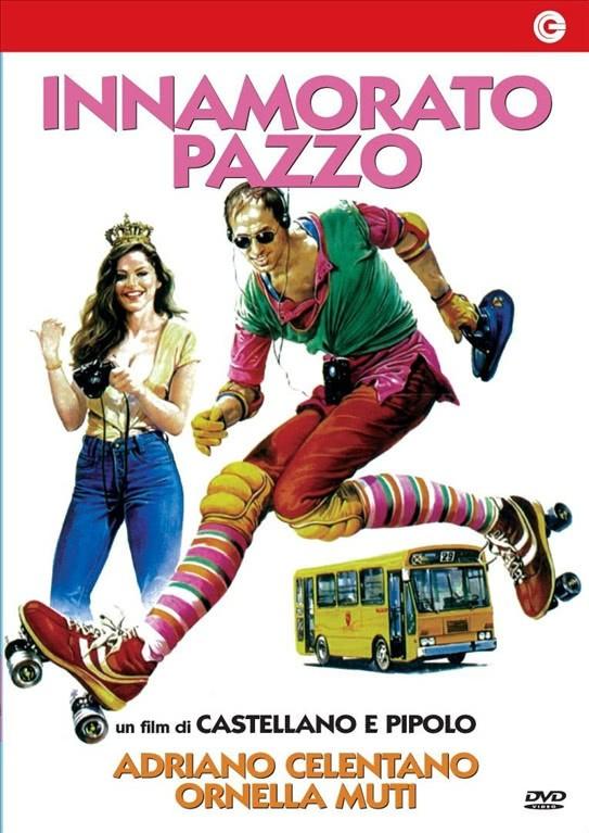 Innamorato Pazzo - Adriano Celentano, Ornella Muti - DVD