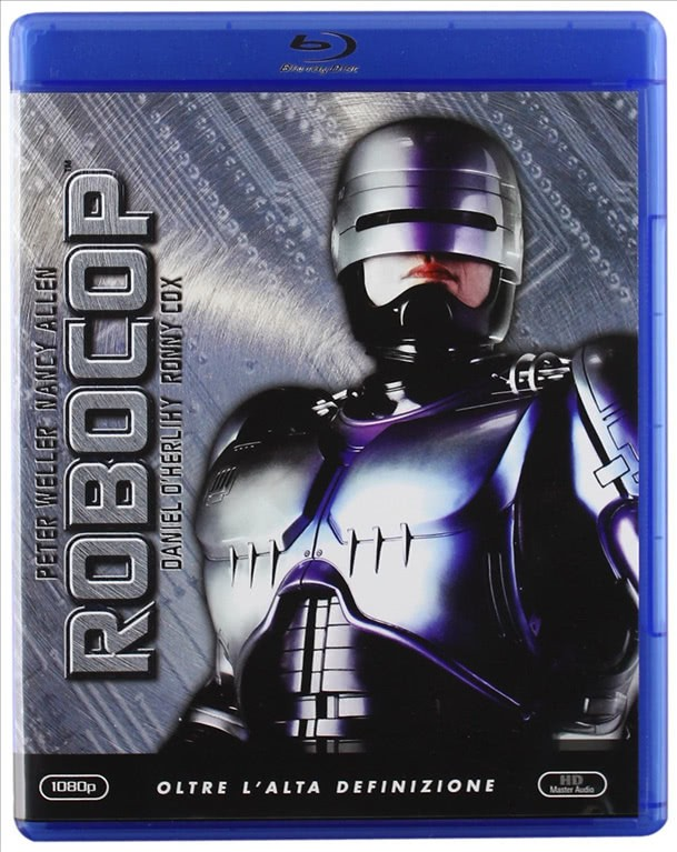 ROBOCOP - FILM BLU RAY