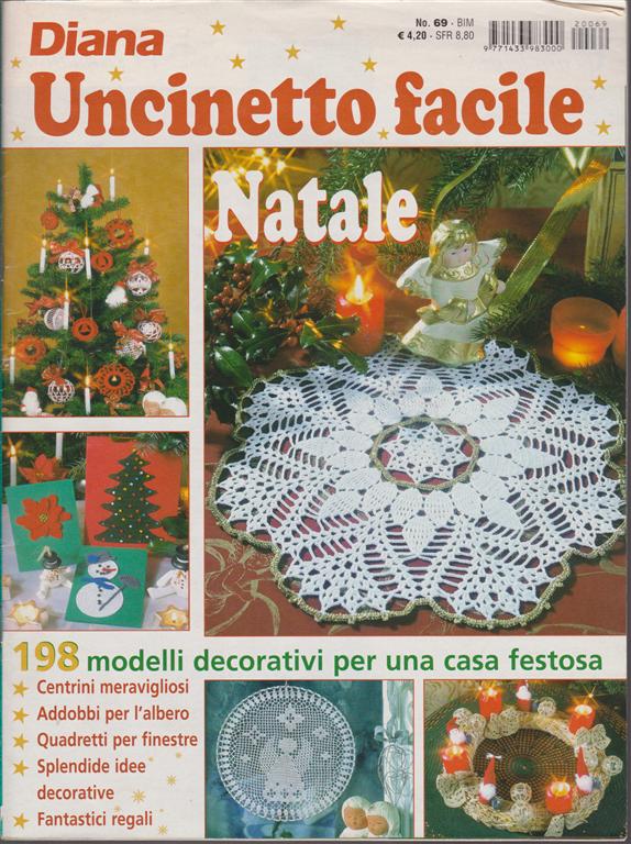 Diana Uncinetto Facile N 69 Bimestrale Natale Edicola Shop