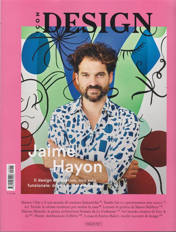 Panorama Icon Design - Jaime Hayon - n. 30 - 10 gennaio 2019 - mensile