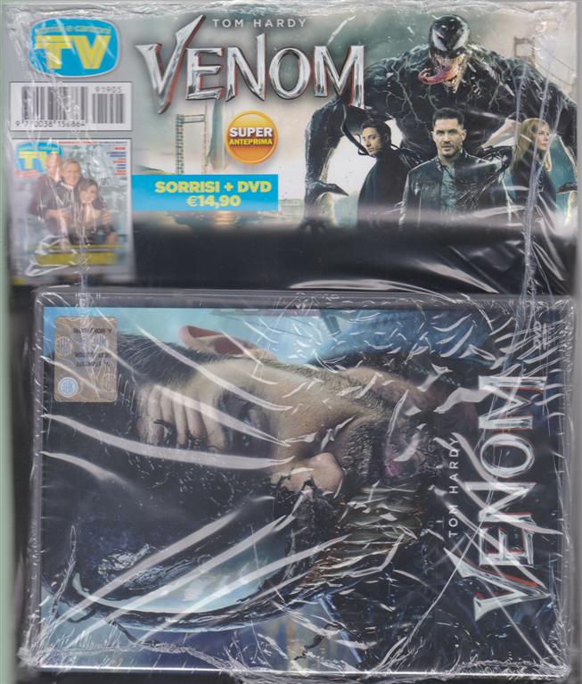 Sorrisi e canzoni tv + dvd Venom -