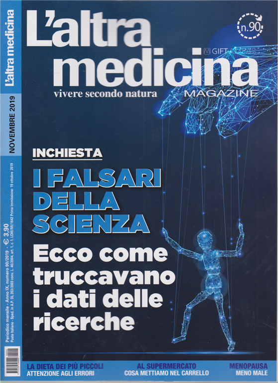 L'altra Medicina Magazine - n. 90 - mensile - novembre 2019