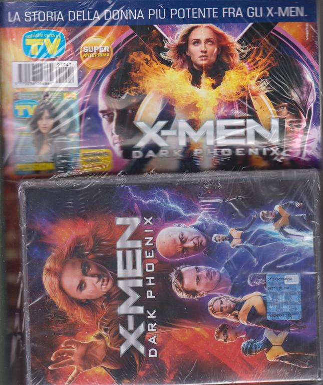 Sorrisi e Canzoni tv + dvd - X-Men dark phoenix -