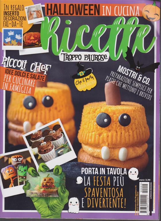 Halloween in cucina - Ricette troppo paurose - n. 2 ...