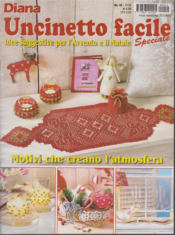 Uncinetto Facile Edicola.Diana Uncinetto Facile Speciale N 42 Trimestrale 22 10 2019