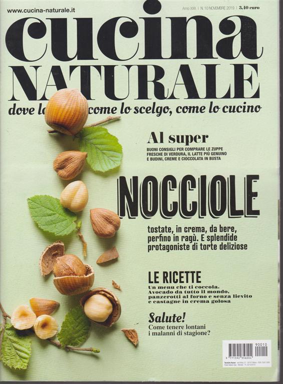 Cucina Naturale - n. 10 - novembre 2019 -