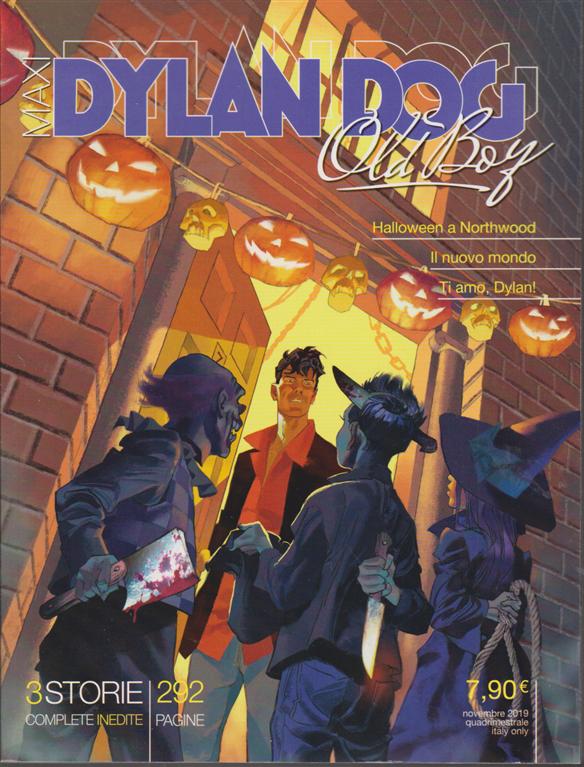 Dylan Dog Maxi - Old boy - n. 37 - novembre 2019 - quadrimestrale - 292 pagine