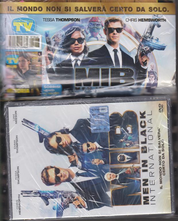 Sorrisi e Canzoni tv + dvd - Men in black intarnational - rivista + dvd