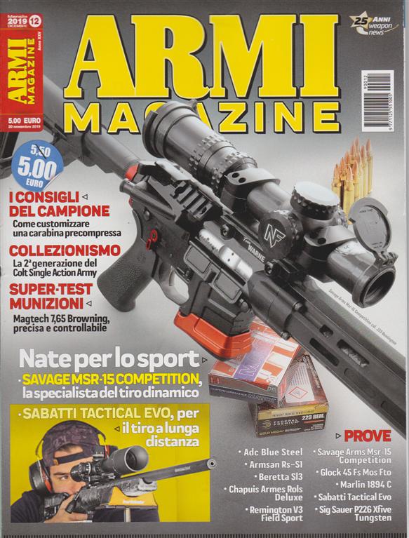 Armi Magazine - n. 12 - mensile - dicembre 2019