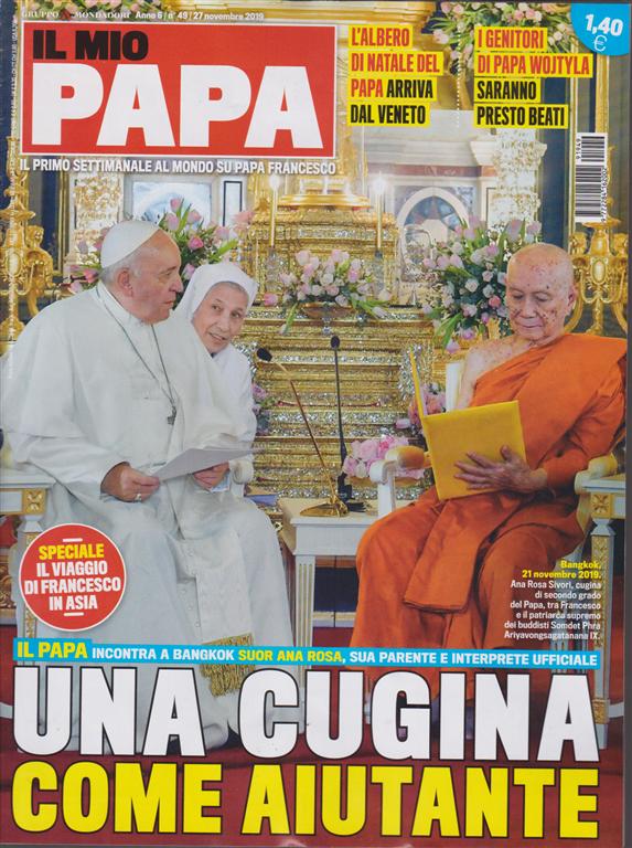 Il mio Papa - n. 49 - 27 novembre 2019 - settimanale