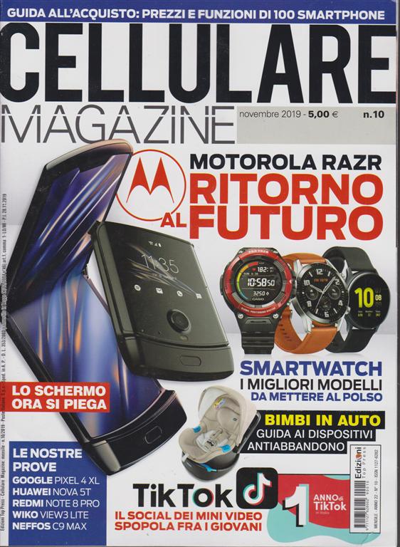 Cellulare Magazine - n. 10 - novembre 2019 - mensile
