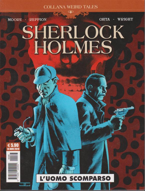 Cosmo Serie Blu - Sherlock Holmes - L'uomo scomparso - n. 86 - 14 novembre 2019 - mensile
