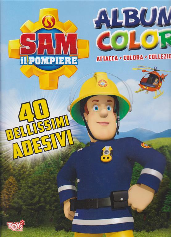 Toys2 Sticker Sam Il Pompiere Album Color N 39 Bimestrale