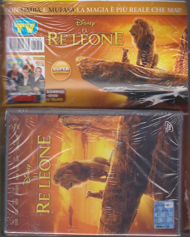 Sorrisi e canzoni tv + il dvd Disney Il re Leone - rivista + dvd