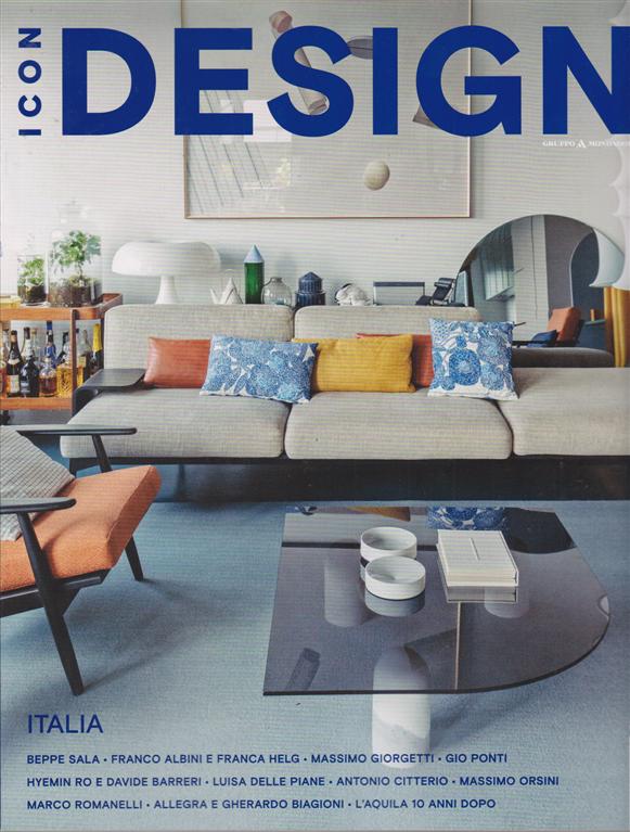 Icon Design - n. 40 - 9 gennaio 2020 mensile
