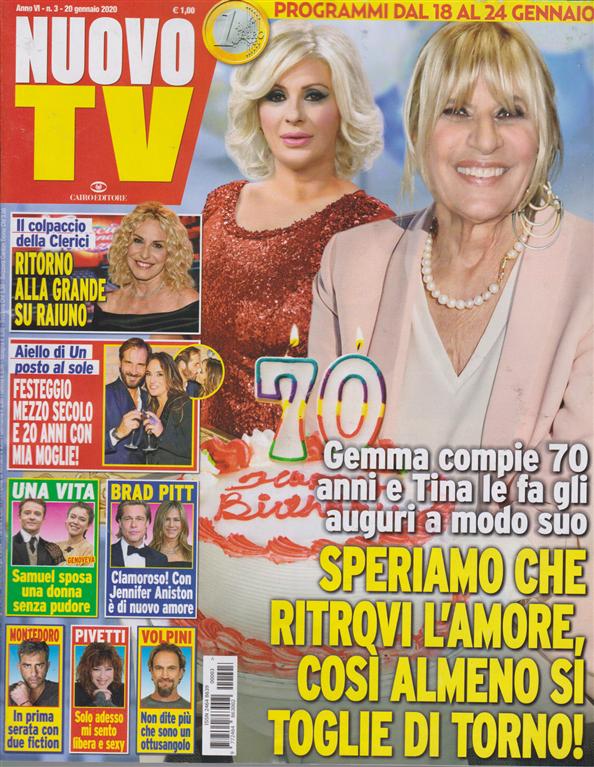Nuovo Tv - n. 3 - 20 gennaio 2020 - settimanale