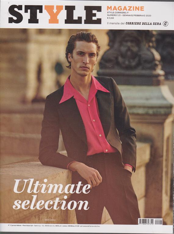 Style magazine - n. 1/2 - gennaio / febbraio 2020 - mensile