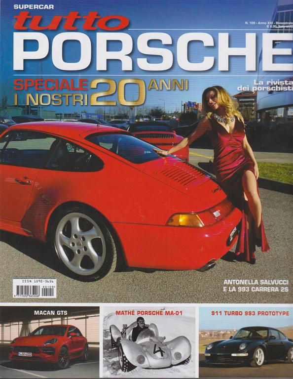 Tutto Porsche - n. 109 - bimestrale - 20 novembre 2019 -