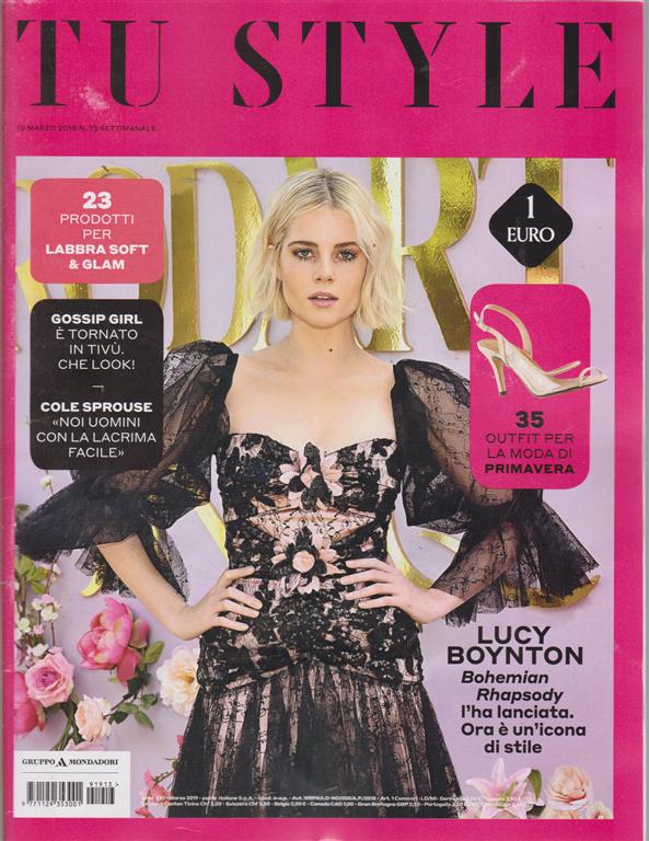Tu Style - n. 13 - settimanale - 19 marzo 2019