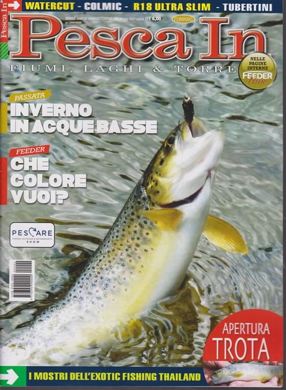 Pesca in - n. 2 - mensile - febbraio 2020