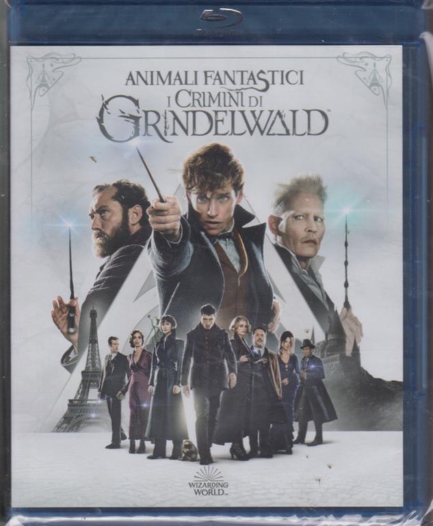 I Blu Ray Di Sorrisi -n. 2 - Animali fantastici i crimini di Grindelwald - 19 marzo 2019 - settimanale
