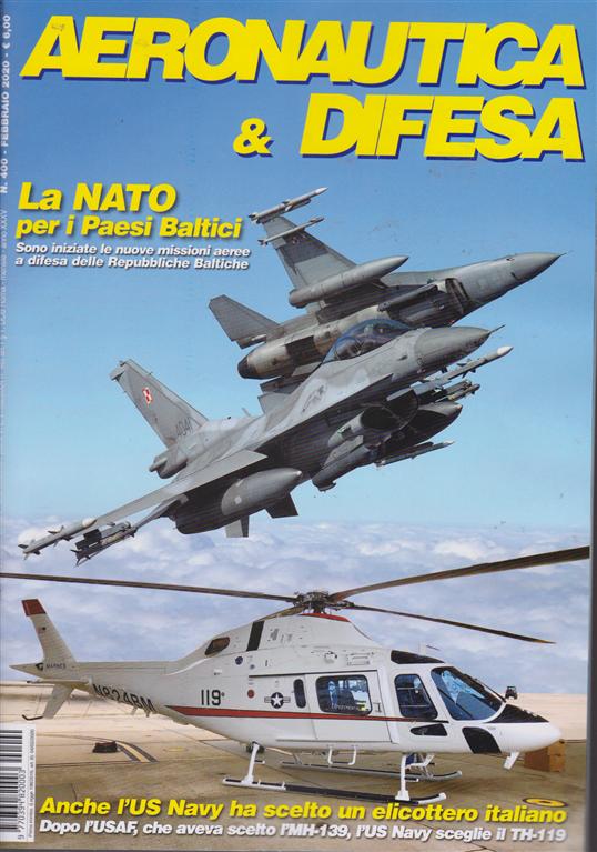 Aeronautica & difesa - n. 400 - febbraio 2020 - mensile