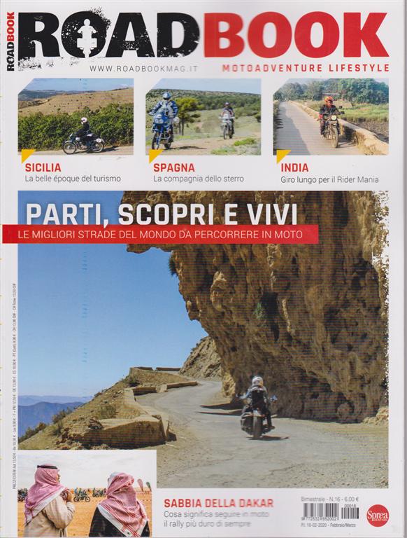 Road Book - n. 16 - bimestrale - febbraio - marzo 2020