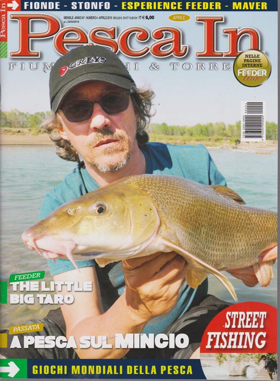 Pesca In - n. 4 - mensile - aprile 2019 -