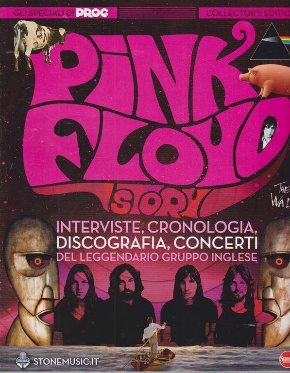 Classic Rock Monografie  Super - Pink Floyd story - n. 6 - bimestrale - aprile - maggio 2020