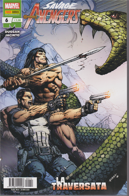 Avengers Senza Ritorno - Savage Avengers N. 6 - La traversata - mensile - 26 marzo 2020
