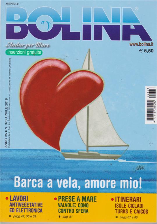 Bolina - n. 373 - aprile 2019 - mensile
