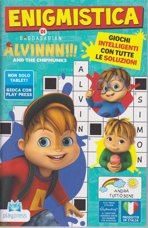 Enigmistica di Alvinnn!!! And the chipmunks - n. 6 - giugno - luglio 2020 - bimestrale