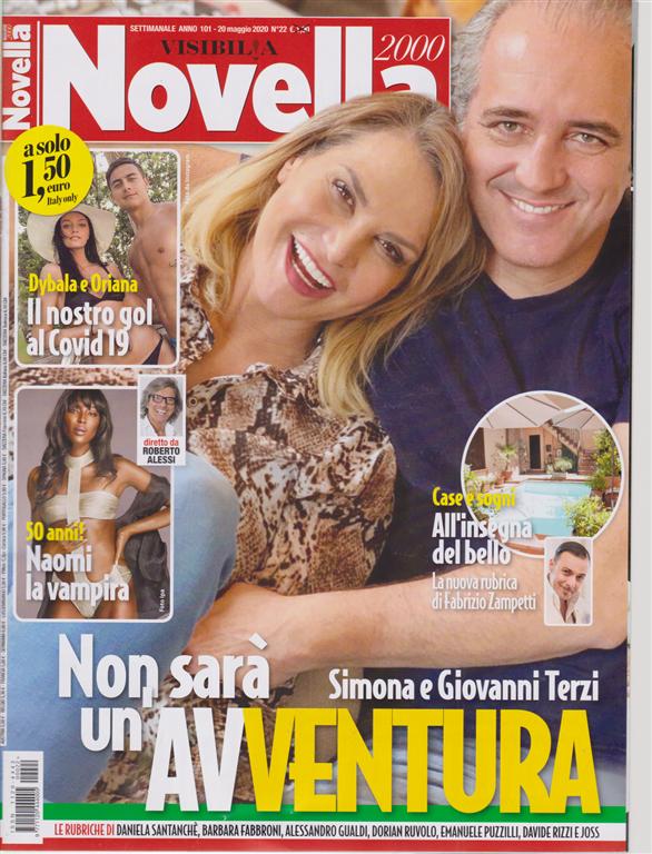 Novella 2000 - n. 22 - settimanale - 20 maggio 2020