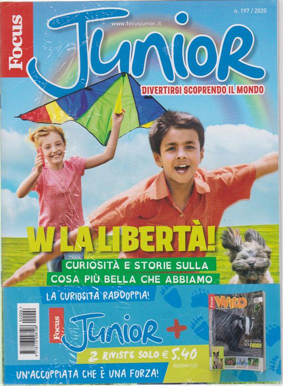 Focus Junior + Focus Wild - n. 197/2020 - 2 riviste