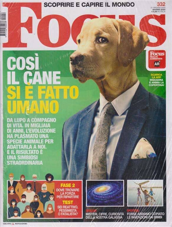Focus + Focus extra - n. 332 - giugno 2020 - 2 riviste
