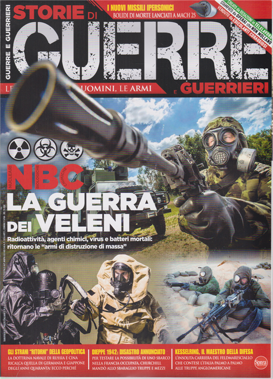 Storie di guerre e guerrieri - n. 31 - giugno - luglio 2020 - bimestrale -