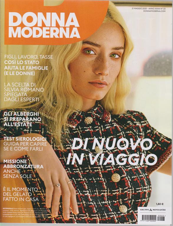 Donna Moderna - n. 23 - settimanale - 21 maggio 2020