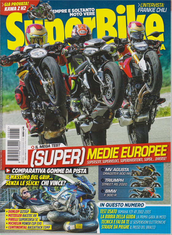 Superbike Italia - Maggio-Giugno 2020 - mensile - n. 5 -