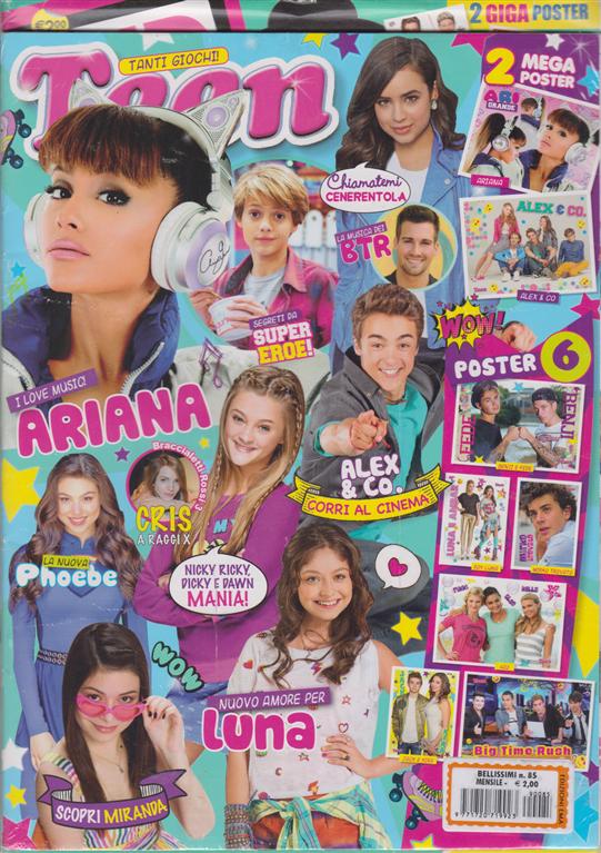 Bellissimi - Teen - n. 85 - mensile - 2 riviste