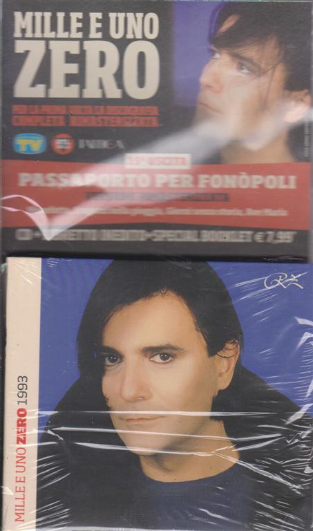 Cd Musicali Di Sorrisi - Mille e uno Zero - uscita n. 15 - Passaporto per Fonopoli - cd + libretto inedito