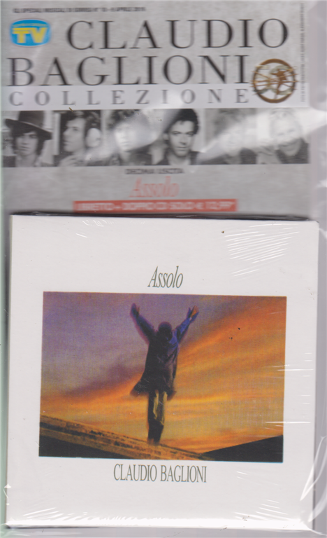 Gli speciali musicali di Sorrisi n. 10 - 9 aprile 2019 - Claudio Baglioni collezione - Assolo - libretto + doppio cd