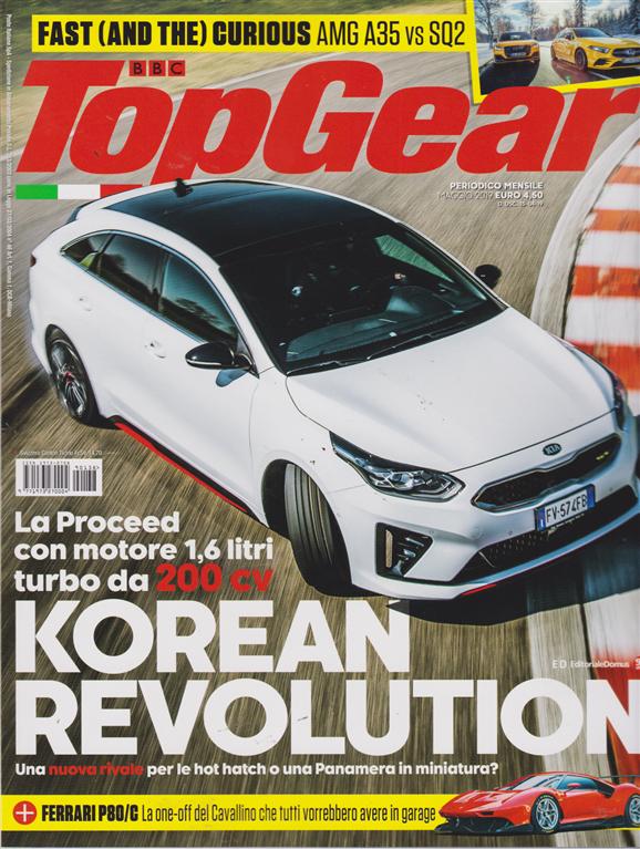 Top Gear - n. 138 - mensile - maggio 2019 -