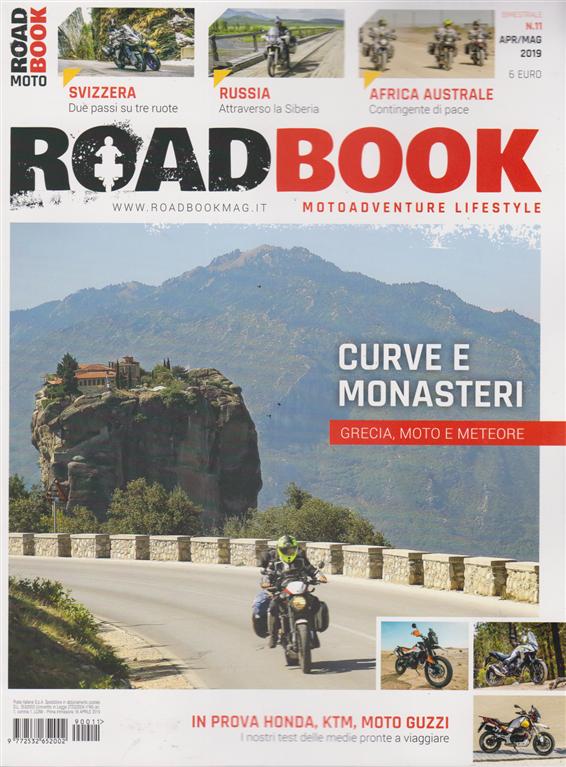 Roadbook - n. 11 - bimestrale - aprile - maggio 2019