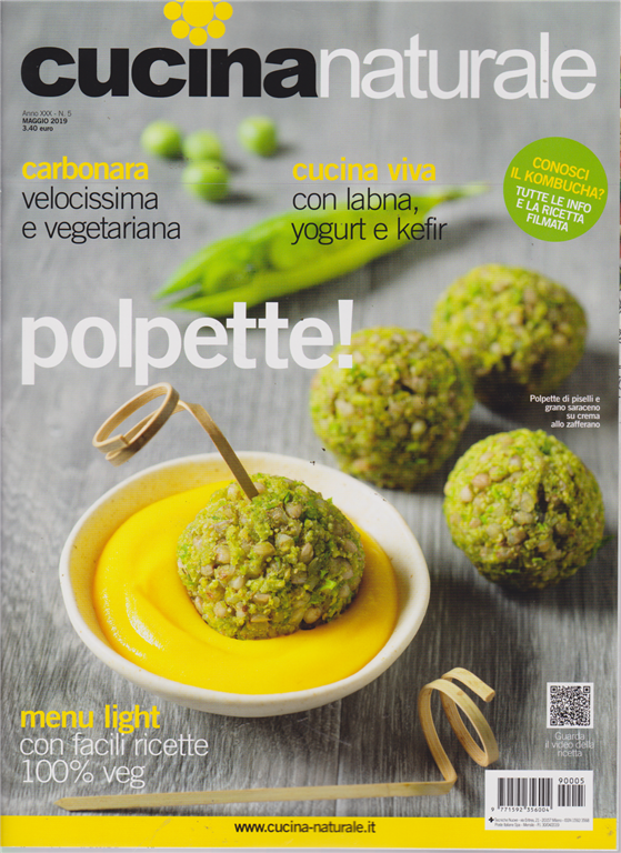 Cucina Naturale - n. 5 - maggio 2019 - mensile