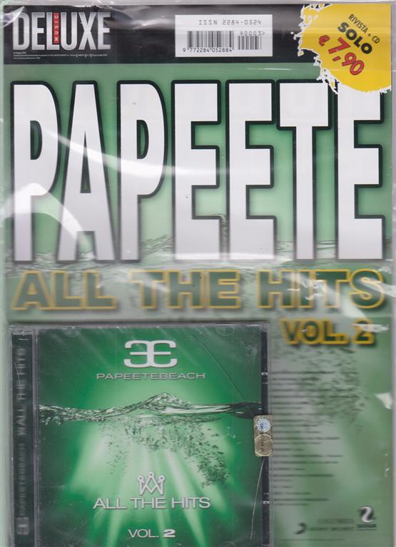Saifam Music Deluxe  - Papeete all the hits vol. 2 - rivista + cd