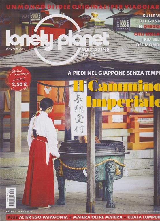 Lonely planet magazine - n.1 - bimestrale - maggio - giugno 2019