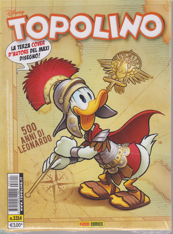 Topolino -n. 3314 - 29 maggio 2019 - settimanale