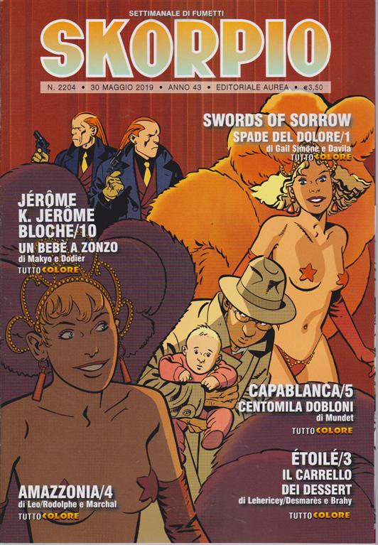 Skorpio - n. 2204 - 30 maggio 2019 - settimanale di fumetti